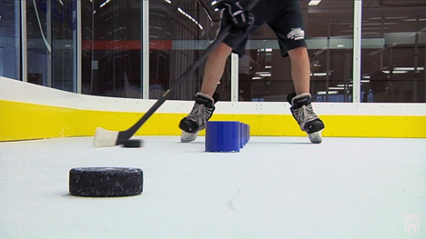 Hockey treadmill